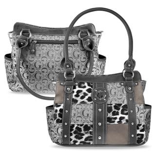 Zodaca Women Jacquard Fabric Shoulder Bag K1593