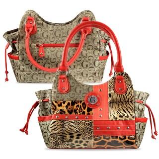 Zodaca Women Jacquard Fabric Shoulder Bag K1592