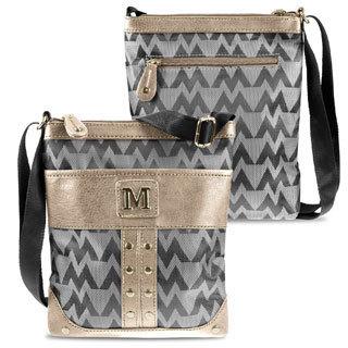 Zodaca Women Jacquard Fabric Crossbody Bag KE1600