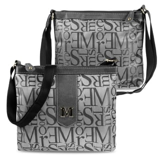 Zodaca Women Jacquard Fabric Crossbody Bag KE1563