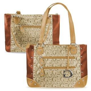 Zodaca Women Jacquard Fabric Shoulder Bag K1526