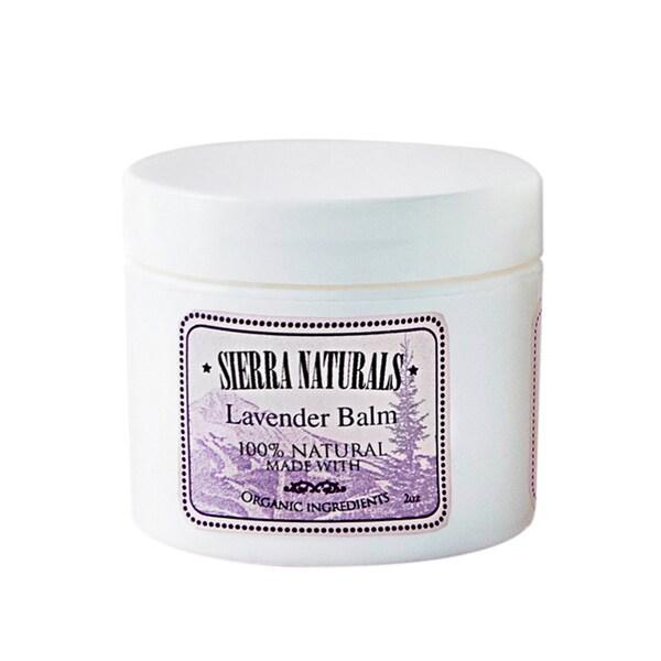 Sierra Naturals Handmade Organic Scented Lavender Balm