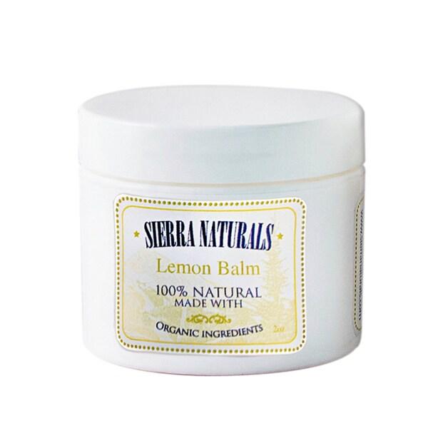 Sierra Naturals Handmade Organic Scented Lemon Balm
