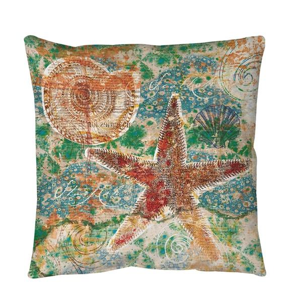 Thumbprintz Coastal Motif 1 Floor Pillow