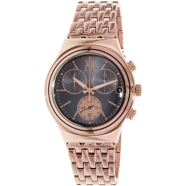 Swatch Men's Irony YCG412G Rose Gold Stainless-Steel Quartz Watch