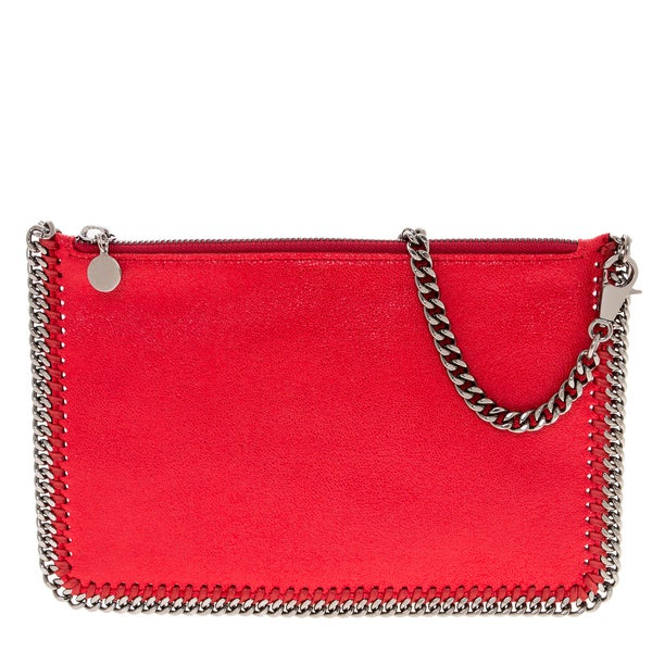 Stella McCartney Falabella Red Shaggy Deer Purse