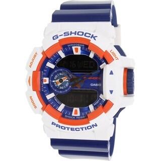 Casio Men's G-Shock GA400CS-7A Blue Resin Quartz Watch