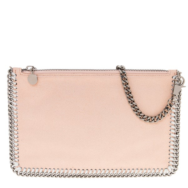Stella McCartney Falabella Pink Shaggy Deer Purse