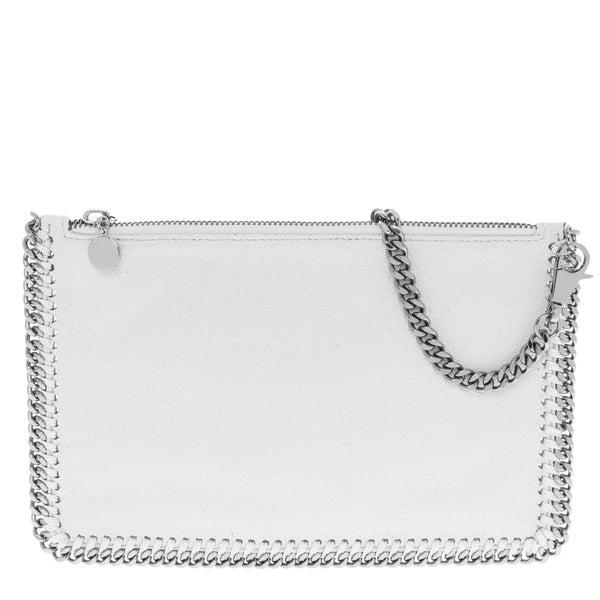 Stella McCartney Falabella White Shaggy Deer Purse