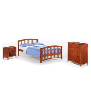 Night And Day Furniture Full-size Molasses Junior Suite