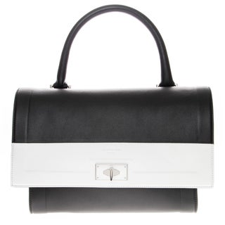 Givenchy Shark Two-Tone Medium Leather Satchel