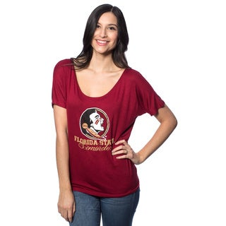 Florida State University (FSU) Women's Off the Shoulder T-Shirt