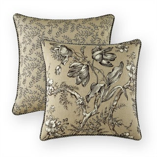 "Chaumont 17"" x 17"" Decorative Throw Pillow"