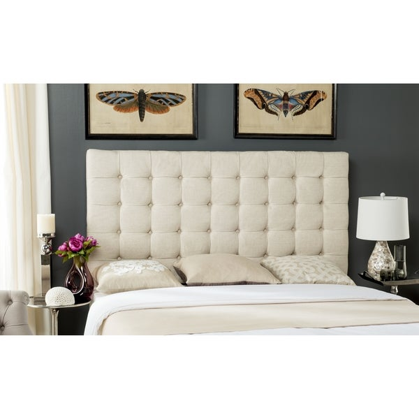 Safavieh Lamar Wheat Tufted Headboard (King)