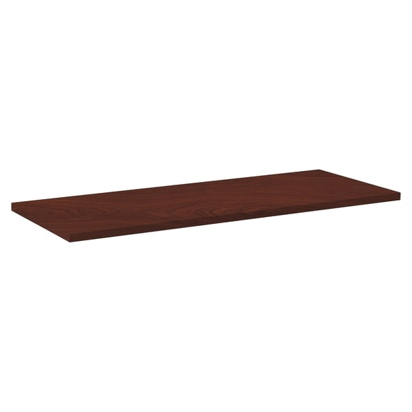 Lorell Invent 48 x 24-inch Mahogany Rectangular Tabletop 17128191
