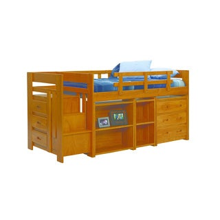 Heartland 3 Drawer Mini Stair Bunk/Loft Bed