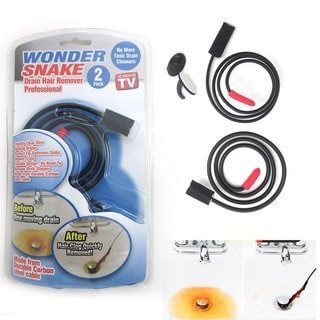 Wonder Snake Drain Hair Remover, Pack of 2