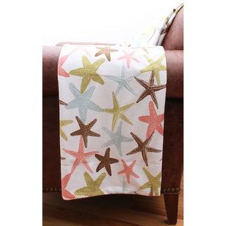 Atlantis Starfish Microplush Throw Blanket