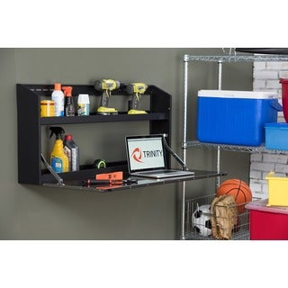 TRINITY Wall Cabinet w/ Fold-Down Work Surface