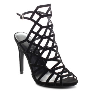 Wild Diva BERLIN-30 Women's Caged Party Heels