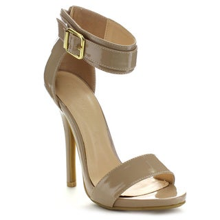 Wild Diva BRIDGET-01 Women's Buckle Strap Stilettos