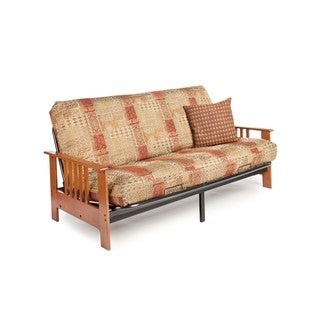 Night And Day Furniture Dakota Full-size Futon Frame with 7-inch Mattress