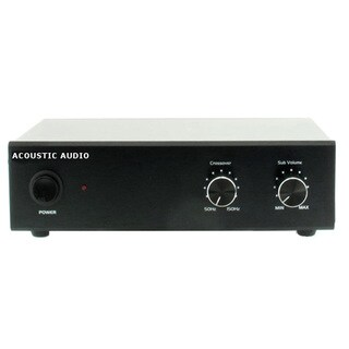 Acoustic Audio WS1005 Passive Subwoofer Amp 200 Watt Amplifier for Home Theater