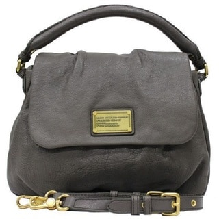 Marc by Marc Jacobs Classic Q Lil Ukita Faded Aluminum Shoulder Handbag