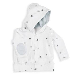 aden + anais Twinkle Tiny Star Baby Boy's Newborn Jersey Hoodie