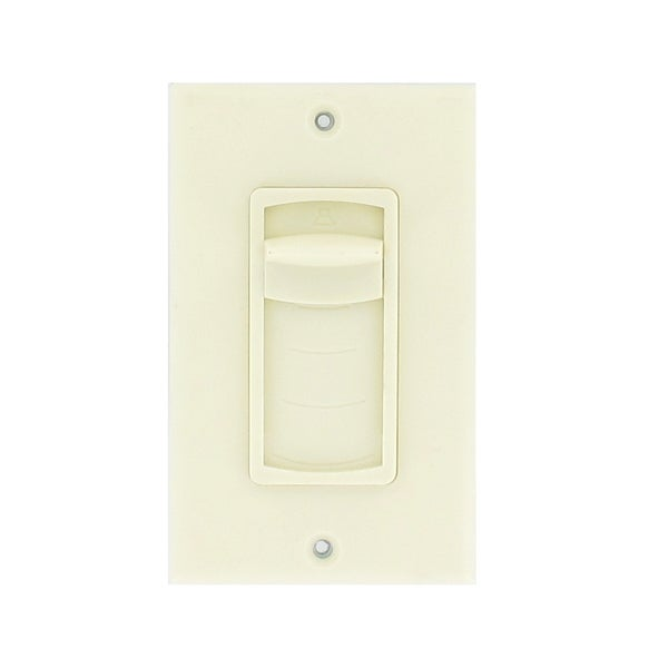 Theater Solutions TSVCS-A Almond Wall-mount Impedance Matching Speaker Slide Volume Control Switch