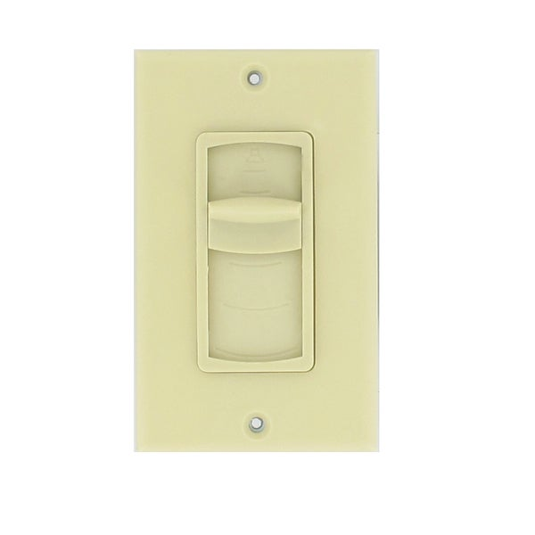 Theater Solutions TSVCS-I Ivory Wall-mount Impedance Matching Speaker Slide Volume Control Switch