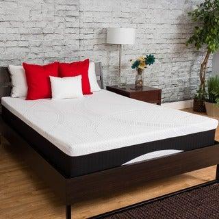 Somette Deluxe 12-inch King-size Phase Change Gel Memory Foam Mattress