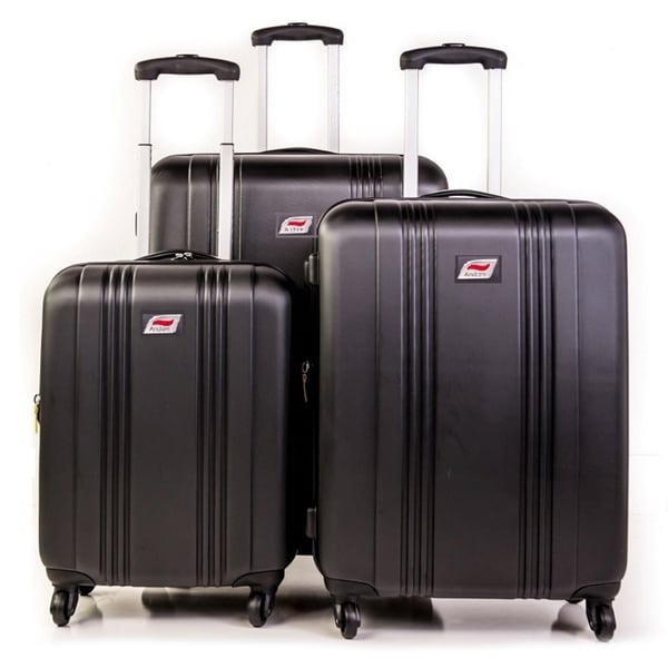 Andare Monte Carlo 3-piece Harside Spinner Luggage Set