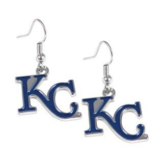 MLB Kansas City Royals Logo Dangle Earring Set