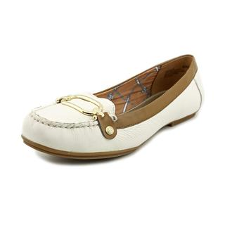 Anne Klein Women's 'Drewe' Leather Casual Shoes