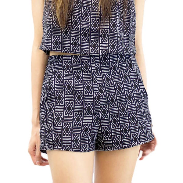 Relished Women's Geo Shorts