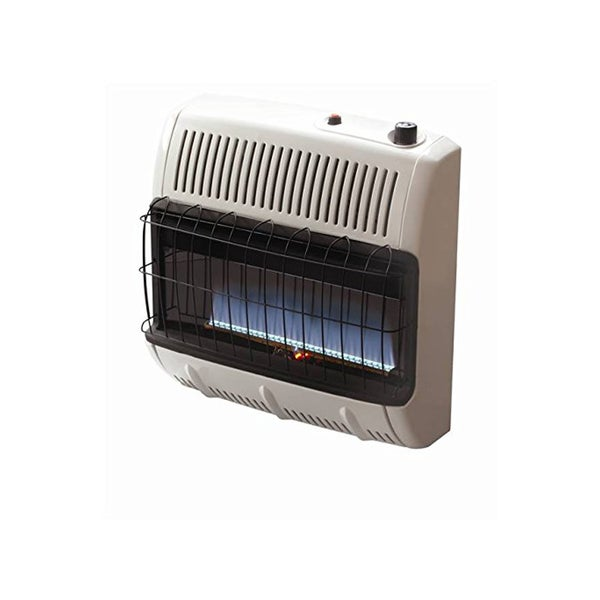 Mr. Heater Blue 30,000 BTU Vent Free Flame Natural Gas Heater