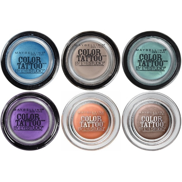 Maybelline New York Eye Studio Color Tattoo 24 HR Eyeshadow 6-piece Set
