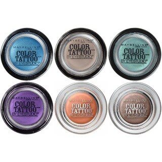Maybelline New York Eye Studio Color Tattoo 24 HR Eyeshadow 6-piece Set
