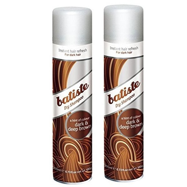Batiste Dry Shampoo Dark and Deep Brown (Pack of 2)