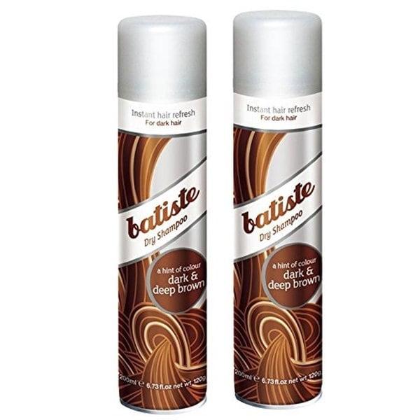 Batiste Dry Shampoo Dark and Deep Brown (Pack of 2)