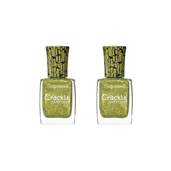 Sally Hansen Crackle Sage Smash Overcoat (Pack of 2)
