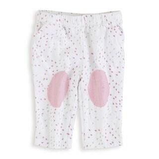 aden + anais Baby Girl's Lovely Mini Heart Newborn Jersey Pants