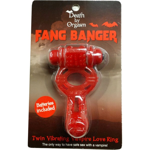 Death By Orgasm Fang Banger Love Ring