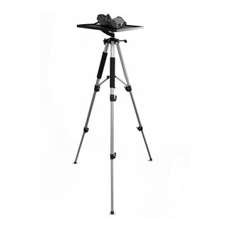 Pyle PRJTPS37 Tripod Style Video Projector Mount Stand, Adjustable Height with Swivel / Rotating Plate