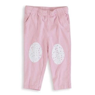 aden + anais Baby Girl's Lovely Pink Newborn Jersey Pants