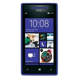 HTC 8X 16GB AT&T Unlocked GSM Windows 8 OS Cell Phone - Blue (Refurbished)