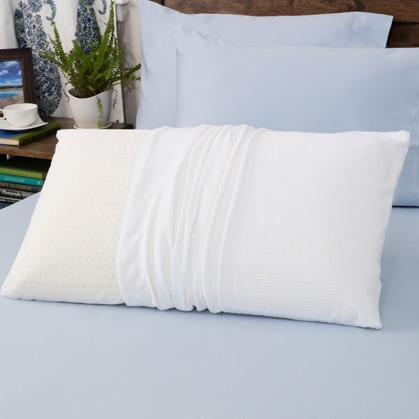 Authentic Talatech 230 Thread Count Latex Foam Firm Density Pillow (As Is Item)