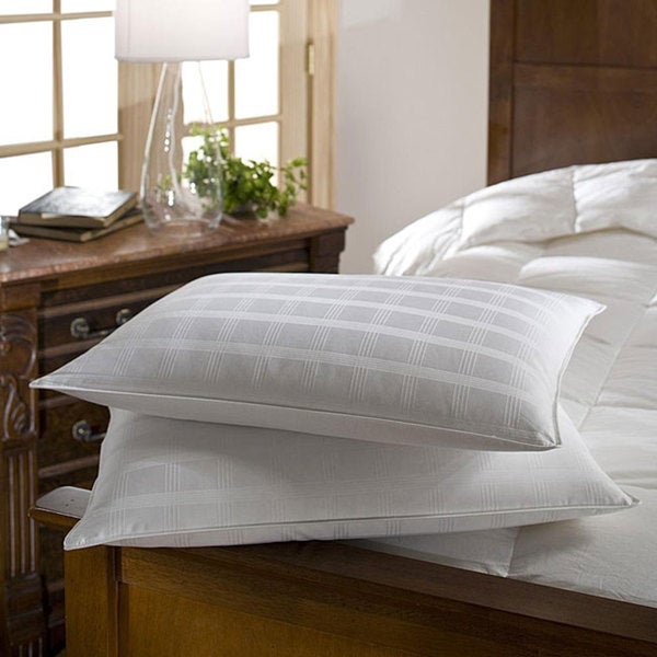 Standard 310 Thread Count Hypoallergenic Down Pillows (Set of 2) Standard Size (As Is Item)