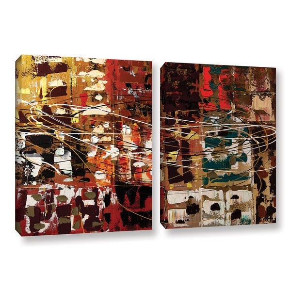 Carmen Guedez's In A Better World, 2 Piece Gallery Wrapped Canvas Set